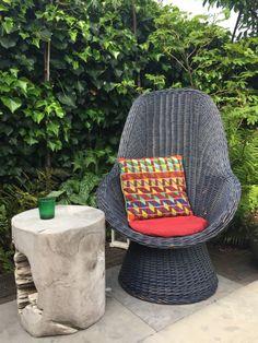 Vintage wicked chair Wicker, Chair, Vintage, Furniture, Home Decor, Stool, Vintage Comics, Interior Design, Home Interior Design