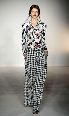 Basso & Brooke Londra - Collections Fall Winter - Shows - Vogue. Fashion Prints, Love Fashion, Fashion Show, Autumn Fashion, Fashion Design, Fashion 2014, London Fashion, Fashion Women, Black And White Shoes