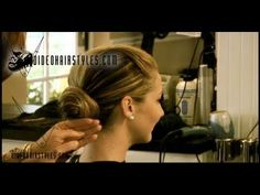 Wedding Hairstyle or Great Prom Hair style idea, filmed in Winter Park Fl