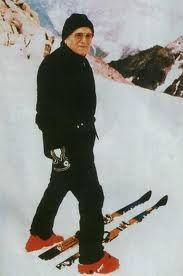 Pope John Paul II - he was an avid skier, even as Pope