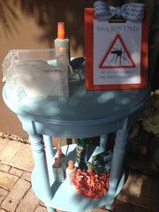 Beware of wedding crashers aka mosquitoes!   Keep your guests happy and bite free by having a bug spray stand!