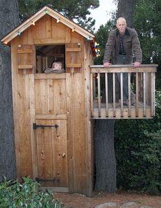 MADE AT HOME - домик на дереве