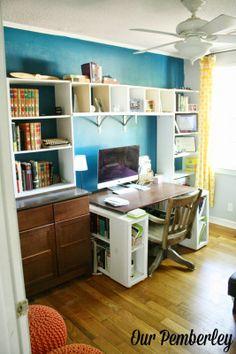 ... bold accent wall built in bookshelves diy built ins wall built diy