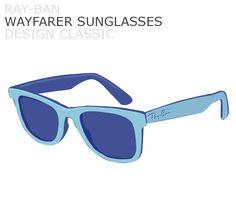 November's design classic, Ray-Ban Wayfarer Sunglasses