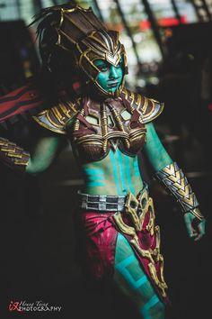 Genderbent Kotal Kahn from Mortal Kombat X Cosplay http://geekxgirls.com/article.php?ID=6021