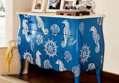 Stencil, ideal para dar vida a muebles viejos : PintoMiCasa.com