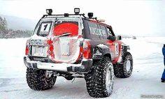 Nissan Patrol Y61 snow Norway