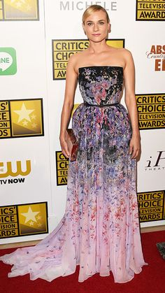 The 2014 Critics' Choice Television Awards Red Carpet - Diane Kruger from #InStyle