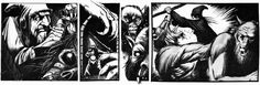 The complete Tim Truman mini comic in which an ambitious necromancer discovers the lair of a vampire, defeats him, collects enough blood to make a potion, then fights off some prowling werewolves to escape.  Later in a safe place he drinks the potion to prepare his body for becoming a lich.  (From 3 articles in Best of Dragon Vol. II, TSR, November 1981.)