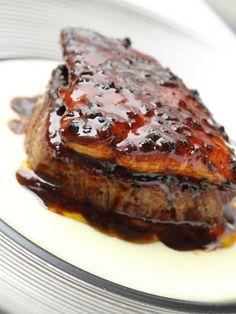 俺フレの名物!! 牛フィレとフォアグラの『ロッシーニ』foie gras wagyu steak