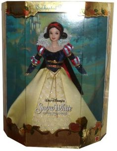 "Disney Year 2000 Collector Dolls Enchanted Princess Series 12 Inch Doll From ""Snow White and the Seven Dwarfs"""