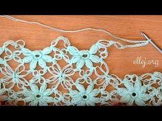 ♥ Дополнительное видео: Бактус, мини-шаль крючком Клематис • Bonus video crochet shawl Clematis - YouTube