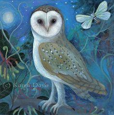 Owl von karendavis auf Etsy