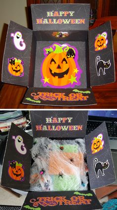 Happy Halloween care package.
