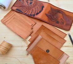 Leather handmade wallet #Leather #handmade #leathercarving #italianleather #madeinitaly#art #fatto a mano #accessories #wallet