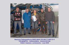 2009 - PROIMPEX - Nikelman 230 Multi Max 8+4 - 2009  #nikelman #kadrycnc #prints…