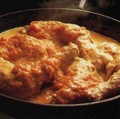 Ayam Paniki / Kip met pittige ketjap roomsaus / recepten | Warungyogya.jouwweb.nl