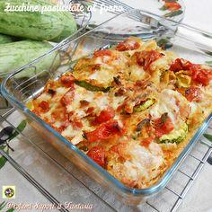 Zucchine pasticciate al forno  Blog Profumi Sapori & Fantasia