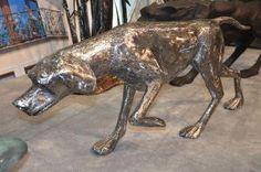 Zwierzęta z metalu , pies myśliwski z metalu