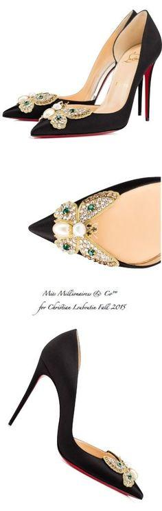 Christian Louboutin Fall 2015 - Miss Millionairess & Co™