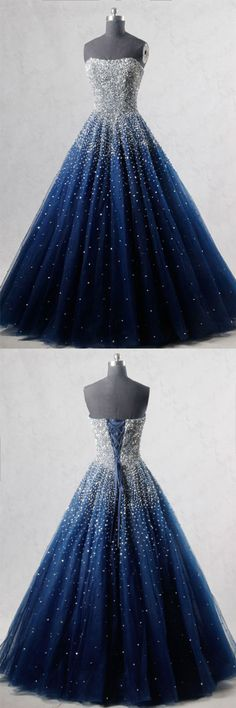 prom dresses 2018 prom dresses 2017 prom dresses long prom dresses long cheap simple prom dresses for freshman prom dresses for juniorsnavy blue prom ball gown Navy Blue Prom Dresses, Pretty Prom Dresses, Blue Evening Dresses, A Line Prom Dresses, Dresses For Teens, Ball Dresses, Beautiful Dresses, Nice Dresses, Formal Dresses