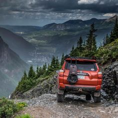 Above Telluride Colorado in the rain. Photo: @stanwrightjr  _____________________________________________ #toyota #trd #trdpro #trdpro4runner #4runner #4runnernation #telluride #colorado @100sinthehills #t4r #toyotatrails #explore #adventure #overland #overlander #overlanding #offroadnation #offroading #4x4 #offroad #adventureawaits #adventure #letsgoplaces
