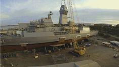 Military and Commercial Technology: Australian Navy's Anzac frigate HMAS Arunta receives new mast