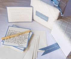 The idea is to have guests write a message and place them in envelopes labeled with numbers. Each anniversary you open that number - special!