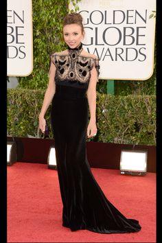 Celebrities en la alfombra roja de la 70 edición de los Globos de Oro: Giuliana Rancic