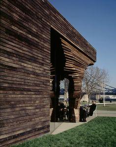 Parkside Pavilion facade