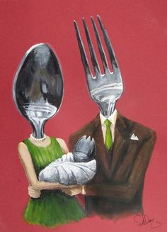 Funny pictures about Birth of a spork. Oh, and cool pics about Birth of a spork. Also, Birth of a spork. Haha Funny, Hilarious, Funny Humour, Funny Stuff, Photocollage, Arte Horror, Art Plastique, Just For Laughs, Laugh Out Loud