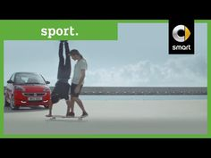 fun for two, divertido para dos, coche, creativo, Two world class skaters. One skateboard | smart UK - YouTube