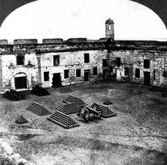 Fort San Marcos - Saint Augustine, Florida, 1875