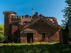 Alexander Park, Tsarskoye Selo, St. Petersburg. Pension Stables