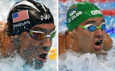 Michael Phelps and Chad le Clos will battle it out for gold in the 200m butterfly final