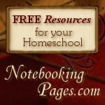 Free Notebooking Resources for your Homeschool