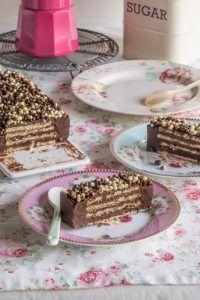 tarta chocolate galletas Raw Cake, Tarta Chocolate, No Bake Cake, Bon Appetit, Just Desserts, Vanilla Cake, Tiramisu, Pie, Candy