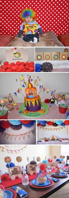 Circus party ideas.