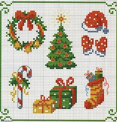 christmas cross stitch: