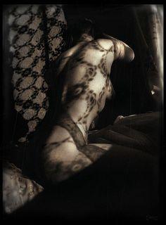 Bogna Patrycja Altman, on ArtStack Digital Photography, White Photography, Fine Art Photography, She Walks In Beauty, Shadow Art, Shadow Play, How To Make Shorts, Sexy Curves, Light And Shadow