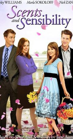 """""""Scents and Sensibility"""" DVD -- Cute movie! But I'm a die-hard Austenite.say that it's based on a Jane Austen and I'm bound to love it! Hallmark Channel, Danielle Chuchran, Nick Zano, Tv En Direct, People Who Judge, Brad Johnson, Jane Austen Movies, Ashley Williams, Lifetime Movies"""