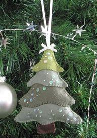 Felt Christmas Tree Part Deux - Pretty by Hand