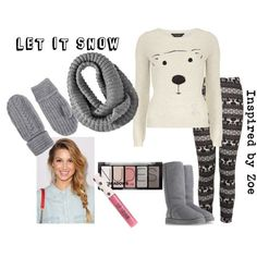 """""""Let it Snow - Tween Fashion Inspired by Zoe"""" by lmgrisez on Polyvore"""