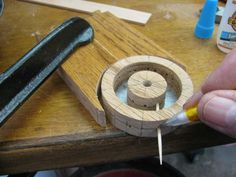 Toy Construction #53: Making a spoked wheel