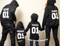 Family Matching Outfits 01 Queen King Princess Prince – Ecolo.luca