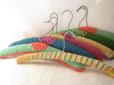 Free Crochet Patterns Clothes Hangers : 1000+ images about CROCHET HANGER COVERS on Pinterest ...