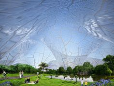 bubbles by orproject proposes architecture for a healthy life - designboom | architecture & design magazine