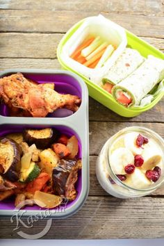 przepisy na jedzenie do pracy Healthy Tips, Healthy Recipes, Healthy Food, Bento Box Lunch, Lunch Boxes, Meal Prep, Food And Drink, Health Fitness, Menu