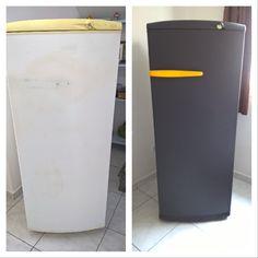 repeindre son frigidaire avec une peinture ardoise diy pinterest peinture ardoise. Black Bedroom Furniture Sets. Home Design Ideas
