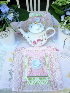 A Sweet and Simple Tea Party Birthday